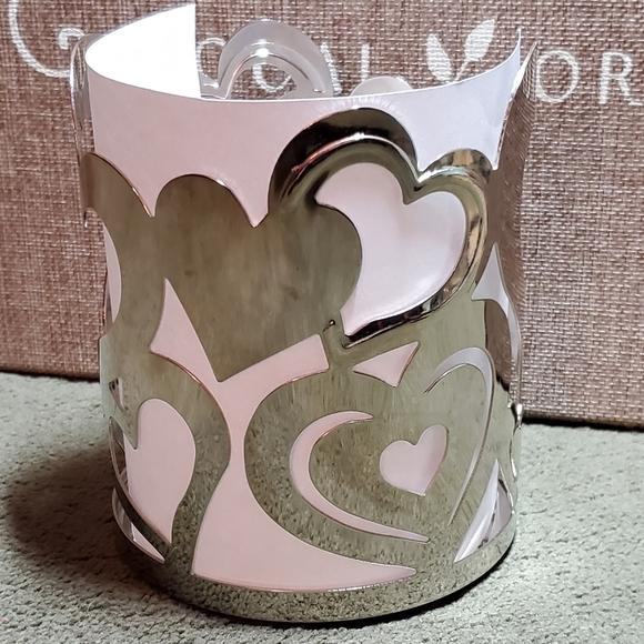 Yankee Candle Hearts Large Jar Holder Sleeve